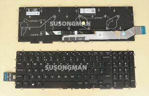 New UK Keyboard for DELL Alienware M15 R1, M17 R1 2019 Laptop Color Backlit