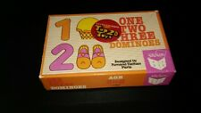 One Two Three Dominoes designed by Fernand Nathan Paris Big Box Ltd. For age 3-8