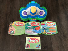 Leap Frog Baby Toddler Little Leaps Console & Games W/ Instructions