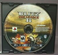 Blitz The League II Football  - Playstation 3 PS3 Game Tested and  Working