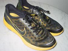 """2010 Mens Nike Lunarswift+ 2 LAF """"Livestrong"""" Black/Varsity Maize Shoes! Size 11"""