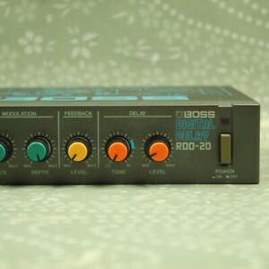BOSS RDD-20 Digital Delay Made in Japan Guitar Effect Rack Unit