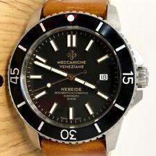 Meccaniche Veneziane - Automatic Diver Watch Nereide 3.0 Ardesia Black EXTRA Str