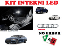 KIT FULL LED INTERNI PER AUDI A4 B6 / B7 PER MODELLI CON PACCHETTO LUCI WHITE