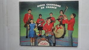 ALBUM D'IMAGE CHOCOLAT POULAIN CHANSONS DE FRANCE COMPLET 8EME SERIE