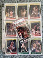 🔥1988 Fleer Complete Set Michael Jordan, Pippen, Grant ALL PSA 8s Rookies Look!