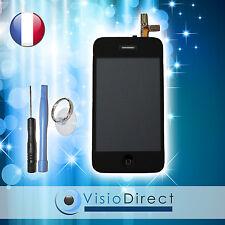 Ecran complet pour iPhone 3G noir vitre tactile + ecran LCD sur châssis + outils