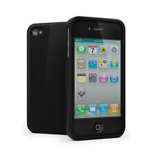 Cygnett Allure High Gloss Case Cover for iPhone 4/4S - Glossy Black NEW