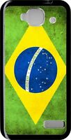 funda carcasa dura case Alcatel one touch idol mini bandera brasil
