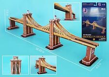 CF107H Brooklyn Bridge 3d Puzzle 64 pieces