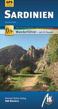 SARDINIEN Wandern Michael Müller Wanderführer NEU 09  Reiseführer GPS-Tracks