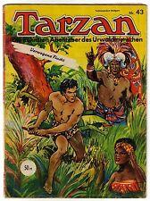 TARZAN Nr. 43 Z.(2) guter ZUSTAND Mondial Pabel ab 1952 Original
