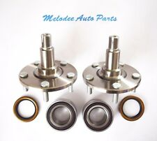 FRONT Left & Right Wheel Hub & Bearing W/ Seal Set For LEXUS IS300 2001-2005