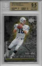 1998 Peyton Manning Black Diamond Triple Diamond RC- BGS 9.5 w/10 sub- #785/1000