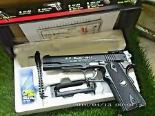 COLT1911/45 ,WG,SPECIAL COMBAT,C 601B FULL METAL+ABS BLOWBACK 6.MM.,CO2.NUOVA.!