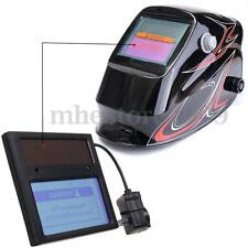 Solar Darkening Welding Helmet/Mask Goggles Lens Automation UV IR Filter Shade