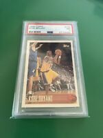 1996-97 Topps Basketball #138 Kobe Bryant RC Rookie PSA 7 HOF Mamba Lakers