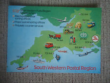 great britain 1981 the south western postal region postcard SWPR14 jumbo FDI