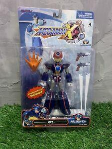 Mega Man X Axl Capcom Megaman Action Figure RARE HTF NEW SEALED