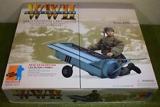 DRAGON 1/6 SCALE WW II GERMAN BRUNO ADLER PARATROOPER & DROP CANISTER 1940