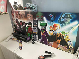 LEGO canvas -Star Wars, Batman&Robin, Harry Potter great gift for LEGO Fan