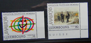 Luxembourg 1997 Juvalux 98 1st Series MNH