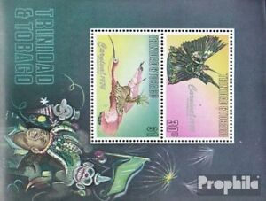Trinidad and Tobago block14 unmounted mint / never hinged 1976 Carnival