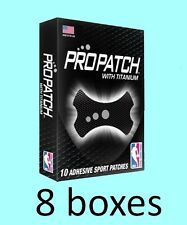 BLACK 8 boxes of 10 each PROPATCH w/ TITANIUM-NBA, Breathable Adhesive