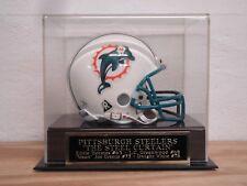 Display Case For Your Pittsburgh Steelers Steel Curtain Football Mini Helmet