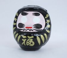 達磨 Daruma NOIR (contre la malchance) Modèle GRAND - Made in Japan