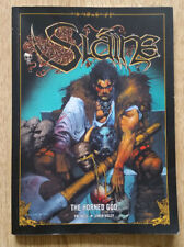 Slaine - The Horned God 2000AD graphic novel Pat Mills Simon Bisley