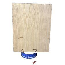 8 LB Swamp Ash 1 pc White Guitar 🎸blk kiln dried 18X14x 1.9 Clean Soft Texture