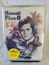 (DVD) HAWAII FIVE-O Complete Seasons 5-8 (24 Disc Set) Jack Lord - 5 6 7 8
