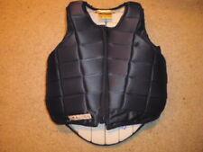 Racesafe 2010 Body Protector Toggle Side black child Large standard back 11/13 y