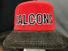 Vintage/Classic New Era Pro Design Corduroy NFL Atlanta Falcons Hat:Hot/Fire