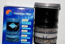 Cartucho de Filtro 5 Niveles en 1 Agua Sistema wassersystem Carbón