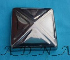 """100mm x100mm(4"""")PRESSED STAINLESS STEEL PYRAMID POST CAP FENCE/RAILING/NEWEL TOP"""