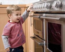 Clippasafe Forno & Fornello Manopola Guardie Confezione da 4 Baby Bambino Bambino fuga di gas di sicurezza