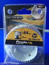 NEW Piranha B&D X81067-XJ 64mm Bi-Metal Hole Saw