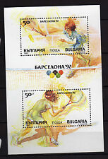 Bulgaria : 1990  Olympic Games Barcelona 92 Minisheet MNH