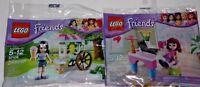 LEGO new PROMO POLYBAG Baggie set 30102 30106 FRIENDS Olivia Desk Emma Ice Cream