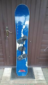 Snowboard CRAZY CREEK 154 cm, mit Bindung