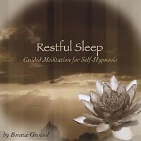 Bonnie Groessl - Restful Sleep: Guided Meditation for Self-Hypnosis [New CD]