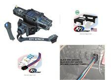 Kfi 5000 Lb Assault Winch & Mount Kit Polaris Ranger Xp 1000 2018-2020 & Crew