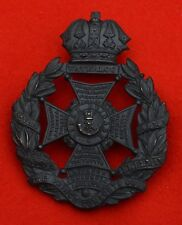 British Army. Rifle Brigade Genuine Victorian OR's Helmet Plate Badge