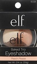 Elf e.l.f. BAKED TRIO Eyeshadow, 0.14-oz. #81291 - PEACH PLEASE NEW Original