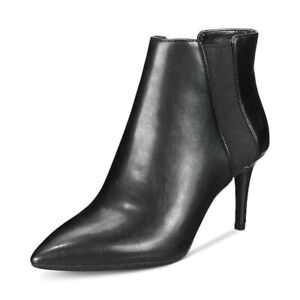 INC International Concepts Womens Irsia Pointed Toe Ankle, Black, Size 6.5 paYa
