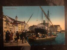 1916  Šibenik Yugoslavia Austria Navy Feldpost KuK Picture Postcard Cover WW1