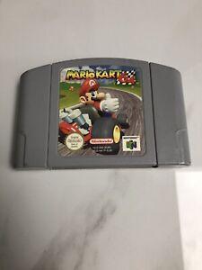 Mario Kart 64 - Nintendo 64. Very Good Condition PAL N64 Cart. Fast UK P&P.