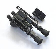 "Tactical Super Duty Bipod Shooting Bipod 6-9"" Swivel Airgun Rifle Swivel Adapter"